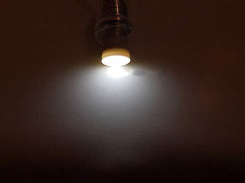 5 uds E10 bombilla de instrumento industrial LED 6,3 V 12 V 24 V 36 V máquina bombilla de luz plana iluminada 110 V 220 V 380 V-Blanco_6,3 V