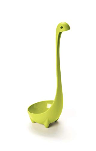 Ototoo Top Shop Suppenschöpfer Brodo Minestra, Design Nessie Lochness grün, 100% Nylon Sicher für den Cibo