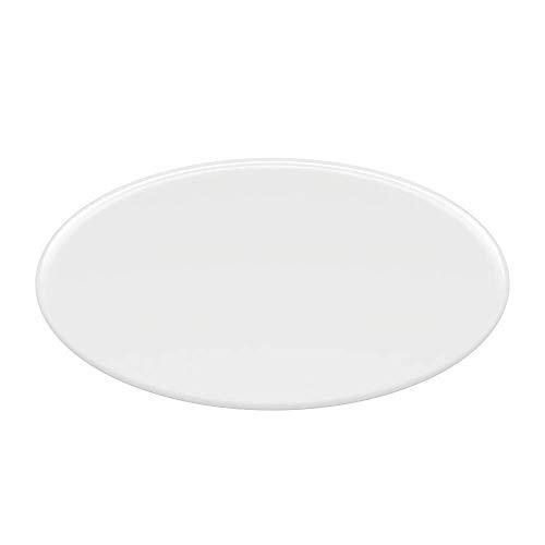 Milchglas Kreis 100cm Glasbodenplatte Funkenschutzplatte Kaminplatte Glas Ofen Platte Bodenplatte Kaminofenplatte Unterlage (Milchglas Kreis 100cm inkl. Dichtung)