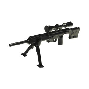 [SIDAN TOYS] スナイパーライフル PSG-1s バイポッド付き ミニフィギュア用 レゴ カスタムパーツ [レゴ互換品] 武器 銃