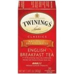 Twinings Decaf English Breakfast Tea (3x20 bag)