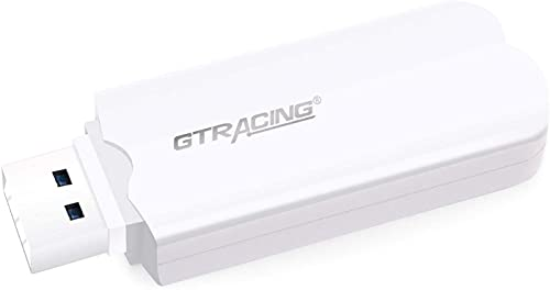 GTRACING Bluetooth USB Adapter Transmitter V5.1 Wireless Dongle for...