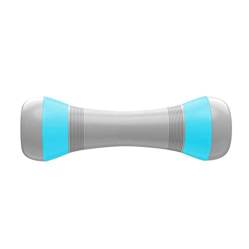 Qiujing 1/2 piezas de mancuernas de peso ajustable para mujer, herramienta multiusos con mano de goma para entrenamiento en casa 1-4kg opcional