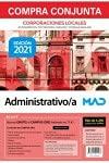 Compra conjunta Administrativo/a de Corporaciones Locales. Incluye acceso gratis al Curso Oro, con más de 4200 preguntas de test online