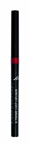 Manhattan X-Treme Last herausdrehbarer Lipliner, Intensive Farbe und definierter Halt, Farbe Love Red 44N, 1 x 0,2g