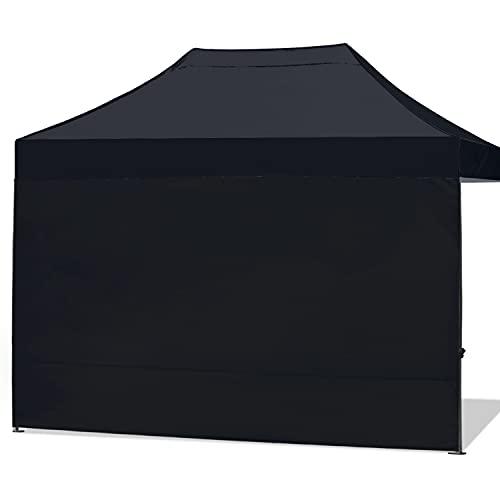 ABCCANOPY Instant Canopy SunWall 30 x 40 m, 1 Packung Seitenwand, Schwarz