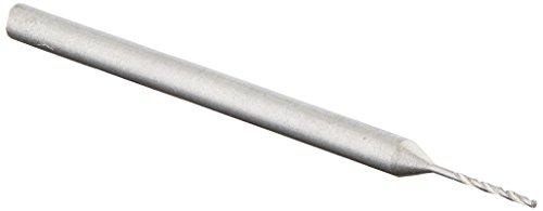 """Proxxon 28864 Tungsten vanadium micro twist drills, 3 pcs, 1/64"""" (0,5 mm), Silver"""