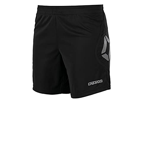 Stanno Pisa Short Damen | Kurze Sporthose für Damen (größe M, schwarz, Ladies fit)