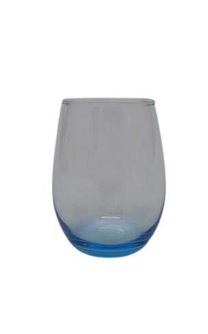 Pasabahce Vaso Cristal Amber 350cc. 6 un. Turquesa