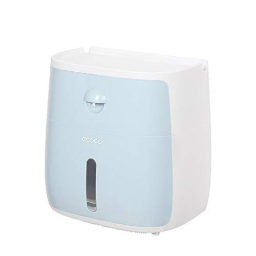 Reohouse - Dispensador de toallas de papel para pared con cajón pequeño