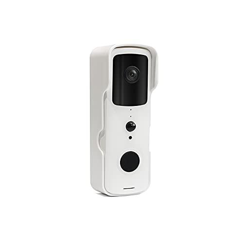 DAEWOO DB501W - Videoportero inalámbrico con WiFi Conectado con detección de Movimiento, batería integrada, Compatible con Amazon Alexa, Google Assistant
