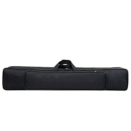 Viaggio Canvas Gear Gear Bag Pesca Borsa Palo da Pesca Impermeabile Protector Sleeve Pesca Bag Bag CONVENIENTE GRASSA DELL'ANGANIZZATORE (Color : Black 80cm 2 Layers)