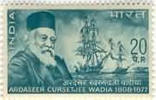 Sams Shopping Ardaseer Cursetjee Wadia Personality Shipbuilder Engineer Naval Architect Ship 20 P Stamp