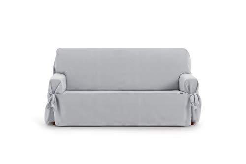 Eysa Levante Funda de sofá, Algodón, Gris, 3 PLAZAS