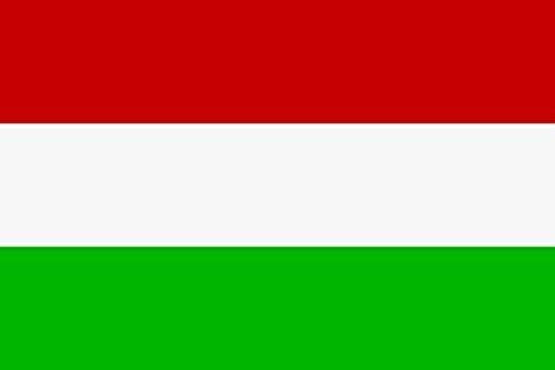 U24 Aufkleber Ungarn Flagge Fahne 8 x 5 cm Autoaufkleber Sticker