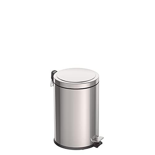 Tretmülleimer Edelstahl, 20 l, Küchenmülleimer