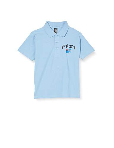 Supportershop Kinder Poloshirt Rugby Fidji S weiß