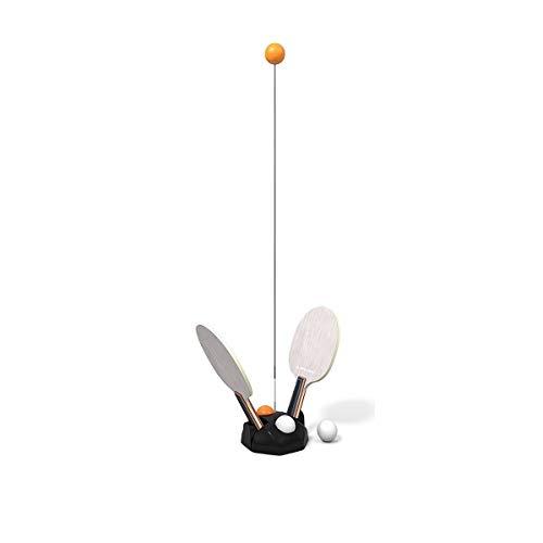 KMDSM Elástica Suave del Eje Trainer Mesa de Ping Pong, Hogar Infantil Individual Self-práctica de Rebote Mesa de Ping Pong Artefacto máquina de Bolas