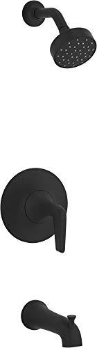 Kohler K-TS22026-4-BL Tempered Shower Trim Set, Matte Black
