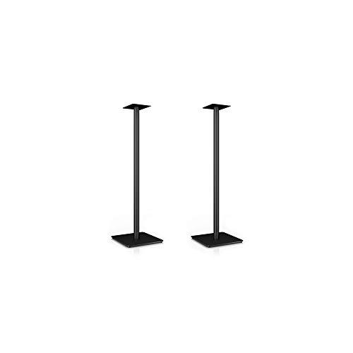 Nubert MS-97 Boxenstativpaar | Stativset für Kompaktlautsprecher von Nubert | Höhe 97 cm | Stabiler Lautsprecherständer | Original Zubehör von Nubert | Schwarz | 2 Stück