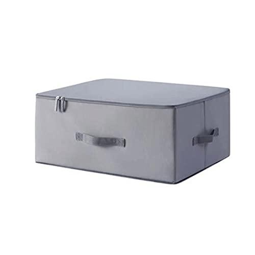 Dabeigouzzhiwl almacenaje, Bolsas de Almacenamiento de Ropa de Armario Plegable, 1 unids, (Gris, Verde, Rosa, Blanco), Dimensiones del artículo: S 18.1x13.7x7in, M 20.4x15.7x9.6in