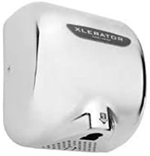 XLERATOR XL-C CHROME 110/120V HAND DRYER WITH SPEED AND HEAT CONTROL