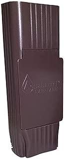 Slimline Downspout Filter, Royal Brown Color