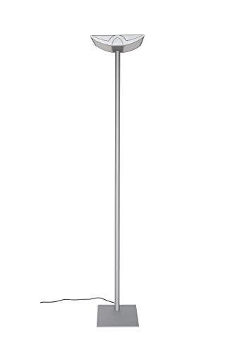 Maul Office staande lamp MAULavior, 4 x 14 Watt, direct licht, hoogte 190 cm, zilver, 8256095