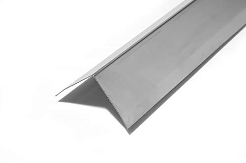 Zipcase 2' x 2' x 48' Stainless Steel Corner Guard, Pack of 10