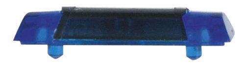 Herpa 053419 - Zubehör Warnbalken Hella RTK-7, 10 Stück, blau/anthrazit