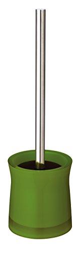 RIDDER 21034050 Brosse à WC Disco, Synthétique, Vert, 10,5 x 10,5 x 38,5 cm
