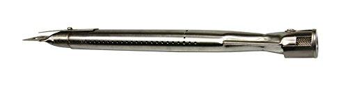 AKTIONA Universal Edelstahl Brenner für Gasgrill, Länge einstellbar von 35-42 cm/Verteiler Gasbrenner Brennerrohr Ersatzbrenner
