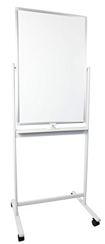 VIVO Mobile Dry Erase Board 24 x 36 inches, Double Sided Magnetic -