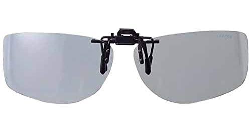 メイガン(Meigan) 偏光サングラス メガネ取り付けタイプ ライトスモーク L クリップオンキーパー サイドカバー 9322-03