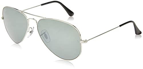 Ray-Ban 3025003/32 58 - Gafas de sol unisex, plateado (Aviator Gradient), 58