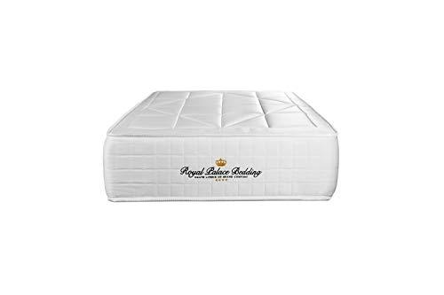 Materasso Windsor 80 x 190 cm, Spessore : 26 cm, Memory foam e molle insacchettate, Bilanciato, 5 zone di comfort