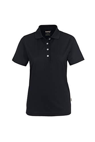 Hakro Women Polo Coolmax®, schwarz, 2XL