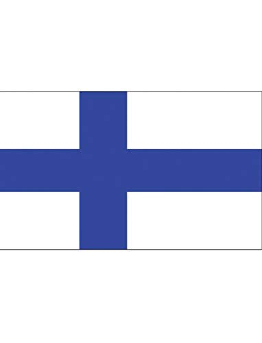 "TrendClub100® Fahne Flagge ""Finnland Finland FI"" - 150x90 cm / 90x150cm"