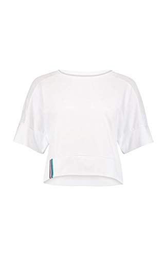 O'NEILL LW Loose Top Street LS Cropped T-Shirt à Manches Courtes pour Femme XS Ultra-Blanc