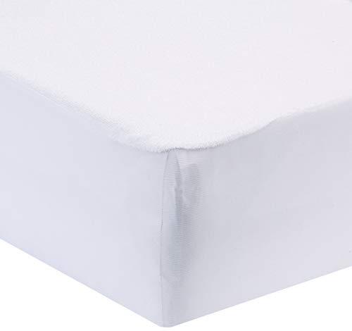 P'tit lit - Protège Matelas Bébé Anti Acariens | Alèse Imperméable 70x140 cm - Bouclette 100% coton - Absorbant et Silencieux - Oeko Tex®