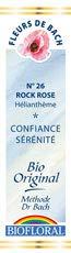 Biofloral, Flores De Bach 26 Rock Rose - Heliantem Bio Demeter - 20 ml