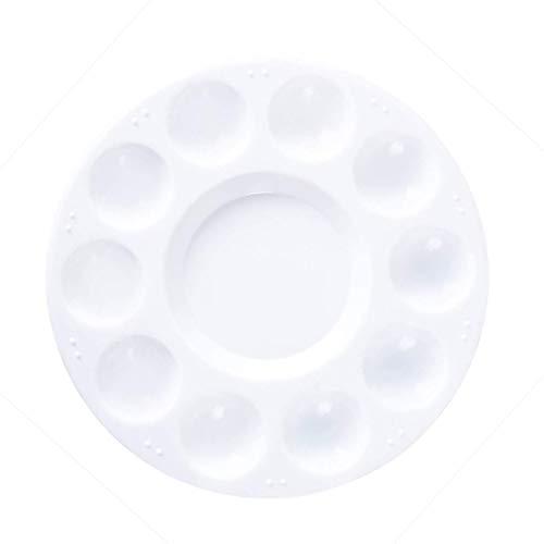 GAKIN Okrągła tacka na farby plastikowa nadająca się do prania samodzielne malowanie artystyczne akrylowe
