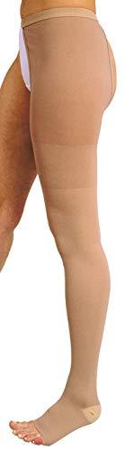 MANIFATTURA BERNINA Variform 1409 (talla 6) - Media de Compresión Graduada Clase 1 (18-21 mmHg) media médica pierna izquierda