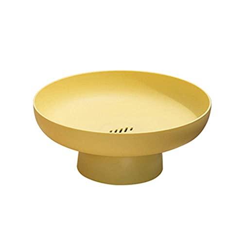 SHUMEISHOUT BXJ - Cesta de almacenamiento de drenaje, decoración de platos de fruta, cesta de filtro, cesta de lavavajillas, bandeja de sala de estar