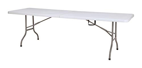 chiner - Mesa Rectangular Plegable al Centro 244 cm.