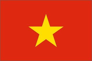 Vietnam Flag Polyester 3 ft. x 5 ft.