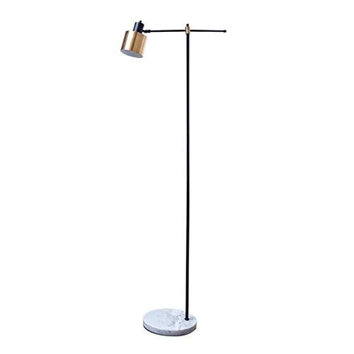 Lampes de chevet Lampadaire Lumière De Style De Luxe Lampadaire Moderne Minimaliste Chambre Salon Canapé Lampe De Lecture Creative Lampadaire (Color : Gold, Size : 28 * 161cm)