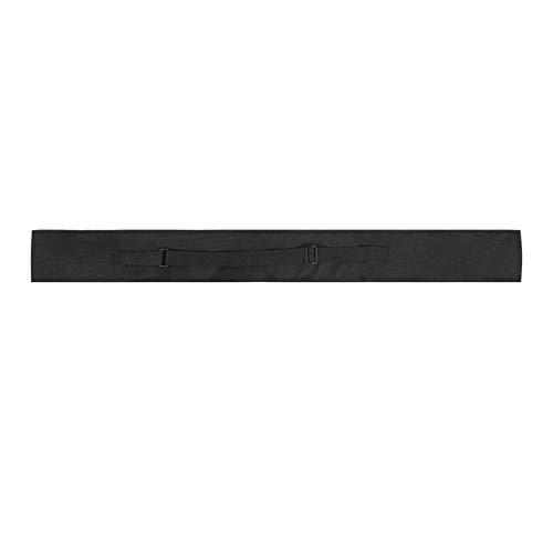 DAUERHAFT Billard Queue Tasche, Nylonmaterial, mit verstellbarem Riemen, Queuetasche Tragetasche, Billard Stick Aufbewahrungstasche, für 1/2 und 3/4 Snooker Billard Stick Rod