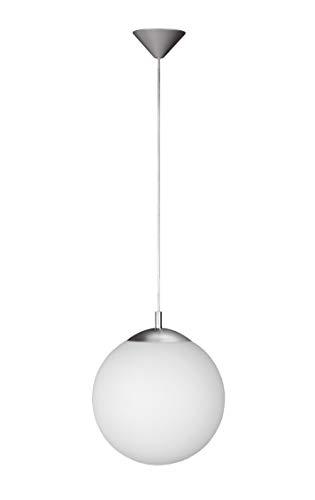 Wofi, 6248.01.64.0250 - Lámpara de techo colgante (bombilla incandescente, 60W), color gris