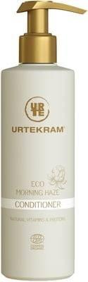 URTEKRAM – Morning-Haze-Pflegespülung, mit natürlichen Vitaminen und Proteinen, empfohlen für trockenes Haar, enthält Hyaluronsäure – pflegt und hydratisiert das Haar, 245 ml